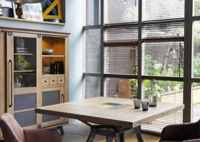 meubles séjour tendance nuance carrée