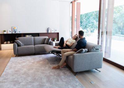 canapé pour le salon baltia