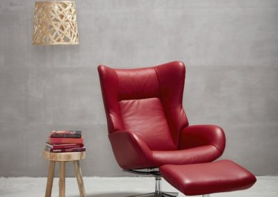 fauteuil relaxation fox rouge