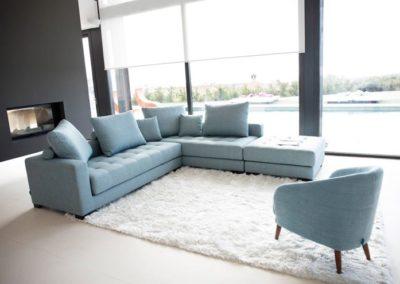 canapé pour le salon manacor