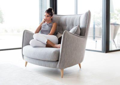 fauteuil siège simone