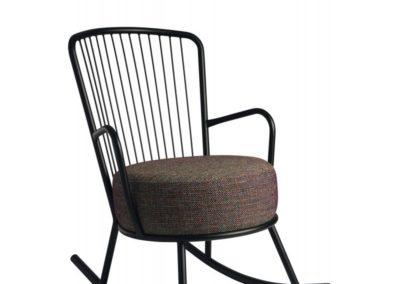 fauteuil siège rocking chair betty