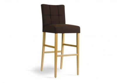 tabouret chaise haute carre